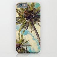 Vintage Blue Hawaii Palm… iPhone 6 Slim Case