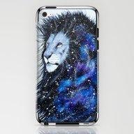 Galaxy Lion iPhone & iPod Skin