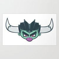 El Demon Art Print