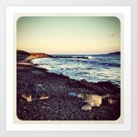 Beach - Instagram Art Print