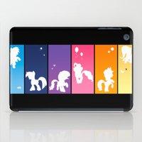 Rainbow Ponies iPad Case