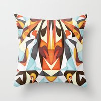 Mesmerize Throw Pillow