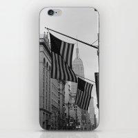 New York, NY.  Patriotism iPhone & iPod Skin