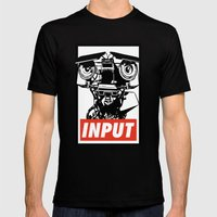 Obey Johnny 5 Mens Fitted Tee Black SMALL
