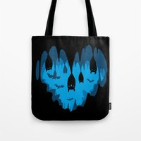 Bats Love Caves Tote Bag