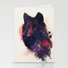 Universal Wolf Stationery Cards