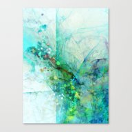 Silent Green Canvas Print