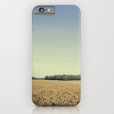 Lonely Field in Blue iPhone 6 Slim Case