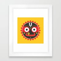 Lord Jagnnath Framed Art Print