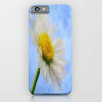 iPhone & iPod Case featuring Daisy Texture 2 by J Coe Photography
