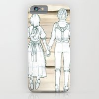 iPhone & iPod Case featuring We Both Go Down Together by Caitlin Clarkson