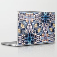community Laptop & iPad Skins featuring Community of Cubicles by Phil Perkins