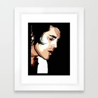 The Feeling of Music Framed Art Print