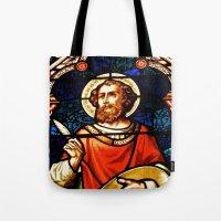 Saintly Glass Tote Bag
