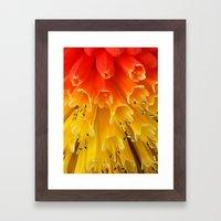 Match Sticks Framed Art Print