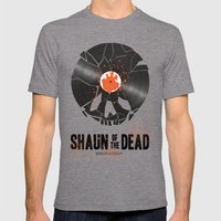 Shaun of the dead Mens Fitted Tee Tri-Grey SMALL