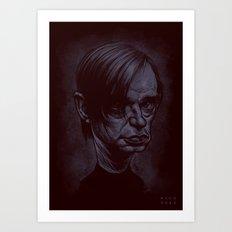 Blixa Bargeld Art Print