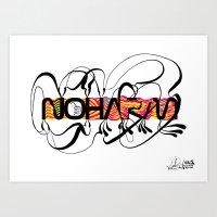NOHARM Art Print