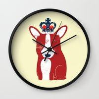 One is not amused Wall Clock