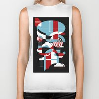 Biker Tank featuring Zeppelins and Balloons by koivo