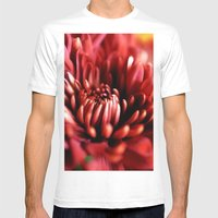 Flower Macro - The Coming Together Mens Fitted Tee White SMALL