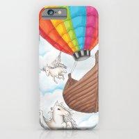 PEGASUS and RAINBOW AIR BALLON iPhone 6 Slim Case