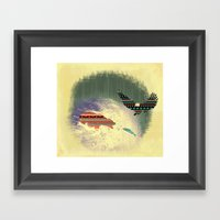 Pattern Survival Framed Art Print