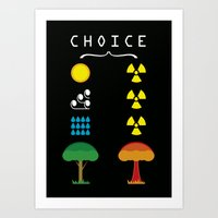 Choice Art Print
