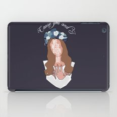 We Were Born To Die iPad Case
