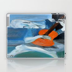 Picasso's Blue Man  Laptop & iPad Skin