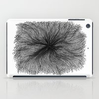 Jellyfish Large B&W iPad Case