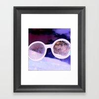 Seeing Clearly Framed Art Print
