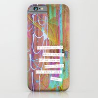 small things with great love  iPhone 6 Slim Case