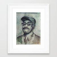 the punter Framed Art Print