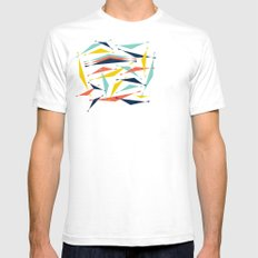 Swizzle Stick - Party Girl Mens Fitted Tee SMALL White
