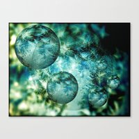 Mystery Worlds Canvas Print