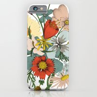 iPhone & iPod Case featuring Flower Wad by Rebecca Rogers