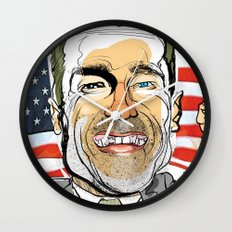 Arnold Schwarzenegger Wall Clock
