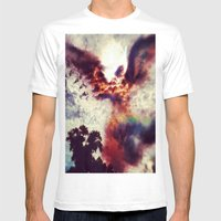 Guardian Angel Mens Fitted Tee White SMALL