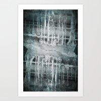 Times Of Ice Art Print