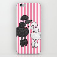Pretty Poodles iPhone & iPod Skin