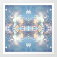 Pastel Sky Art Print