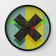 Wall Clock featuring CROSS by Metron