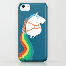 Fat Unicorn On Rainbow J… iPhone 5c Slim Case
