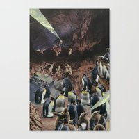 PENGUINS WITH POWERS Canvas Print