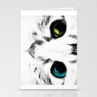 CAT'S EYES Stationery Cards