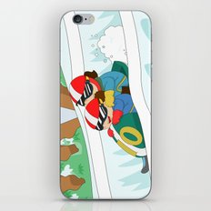Winter Sports: Bobsleigh iPhone & iPod Skin