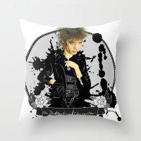 The Destructive Character Throw Pillow