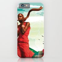 iPhone & iPod Case featuring Poster Afryka! by Rilke Guillén