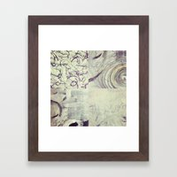 Between Time Quad Framed Art Print
